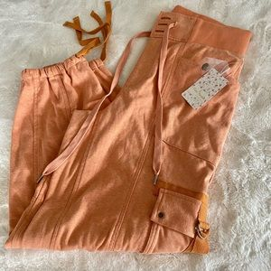 Free People Pants & Jumpsuits - NWT Free People Semi Charmed jogger cargo orange